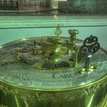 Sprossenrad-Rechenmaschine, 1727 von Antonius Braun in Wien gefertigt