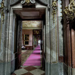 Zimmerflucht, ausgehend vom Marmorsaal