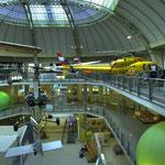 Im Bereich »Flugtechnik« ist auch eine De Havilland DH 104 Dove zu sehen