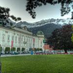 Die Hofburg zu Innsbruck