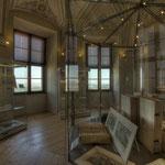 Die Räume des ersten Stockwerks beherbergen das Museum im Kaisertrakt.