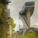 Die Bergiselschanze der Architektin Zaha Hadid