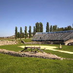 Carnuntum Petronell: Das Amphitheater in Bad Deutsch Altenburg
