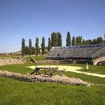 Carnuntum Petronell: Das Amphitheater in Bad Deutsch Altenburg