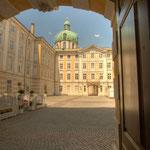 Der Innenhof der Hofburg