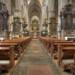 Die Stiftskirche ist mit ihrer Polygonalapsis und dem Hallenumgang etwas sehr Ausgefallenes im Zisterzienserorden des 12./13. Jahrhunderts.