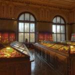Das Naturalienkabinett wurde Ende des 18. Jahrhunderts zu einem Mittelpunkt der mineralogischen Forschung in Europa.