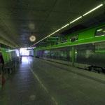 City Airport Train im Bahnhof Flughafen Wien Schwechat