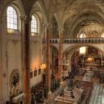 ... aber wer die Hofkirche zu Innsbruck betritt...