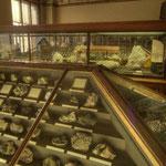 Die mineralogisch-petrographische Sammlung zählt zu den bedeutendsten der Welt.