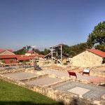 Carnuntum Petronell: Grundmauern eines Handwerkerhauses