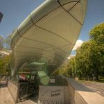 Die Station Innsbrucker Messe- und Congress-Zentrum...