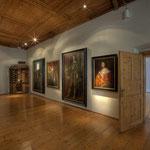 Die Porträtgalerie befindet sich im Hochschloss, wo zur Zeit Ferdinands II. die Wohnräume lagen.