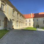 Innenhof mit den Unterrichts- und Wohnräumen der berühmten Altenburger Sängerknaben