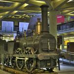 Die Güterzug-Dampflokomotive »AJAX« ist die älteste erhaltene Dampflokomotive Kontinentaleuropas.