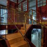 Looshaus Wien: Stiegen in eine Zwischenetage