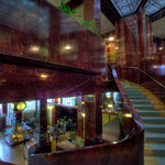 Looshaus Wien: Treppe in den ersten Stock