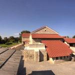 Carnuntum Petronell: Hauptgebäude mit römischer Therme