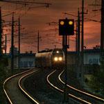 City Airport Train auf der Strecke Wien/Schwechat