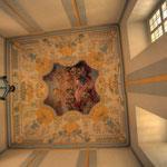 Bartolomeo Altomonte hat das Fresko im Mittelfeld der Decke geschaffen