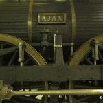Die »AJAX« war auf dern »ausschließlich privilegierten Kaiser Ferdinands Nordbahn« im Einsatz.