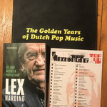 Boek Lex Harding met gedrukt exemplaar Lex Top 40.
