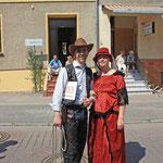 Zum Volksfest 2010 hatte ich mit Heidi H. sehr viel Spaß.
