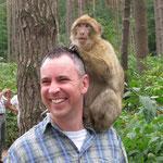 Immer ein Ausflug wert ist der Besuch im Affenwald (September 2009).