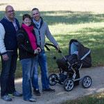 Der erste Besuch nach der Geburt meiner Nichte bei meinem Bruder und seine Lebensgefährtin im Oktober 2013...