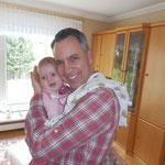 Hier bekam ich die persönlichen Glückwünsche zu meinem 40. Geburtstag von meiner Nichte (Februar 2014).