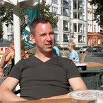 Hier bin ich zu Besuch bei Freunden im August 2007.