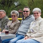 Ein Ausflug mit meinen Schwiegereltern sowie meiner Mutter im Mai 2013.