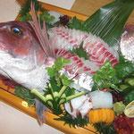 鯛の活き造り(要予約)
