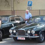 Jaguar MK 10 beim Winsener Oldtimertreffen