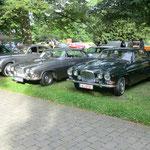 Jaguar MK 9, MK 10 beim Winsener Oldtimertreffen