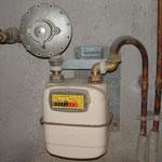 Compteur de gaz en reseau