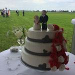 Bruidstaart Anja en Pieter