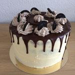 Drip cake met Oreo