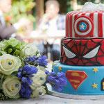 Bruidstaart Marvel