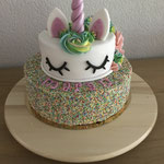 Stapel Unicorn met spikkels en ganache