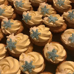 Mini cupcakes kerst