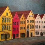 Brygga @ Bergen, 2009, 50x50cm