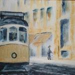 Lisboa tram, 2009, 20x40cm