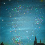 Stars over a city, 2011