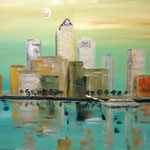 Canary Wharf, London, 2013, 72x100cm