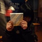 アンジェリックで二次会!吉田先輩からヨーロッパのお土産いただきました!