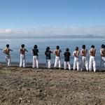 再び琵琶湖に入ります