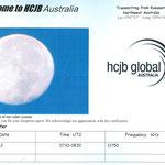 HCJB - Australia - 2012