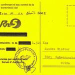 RNE5 - Tarragona - 2002