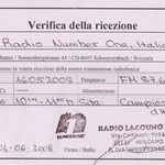 Radio Number One - 2008